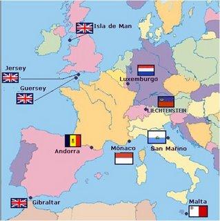 Paraisos fiscais europeos