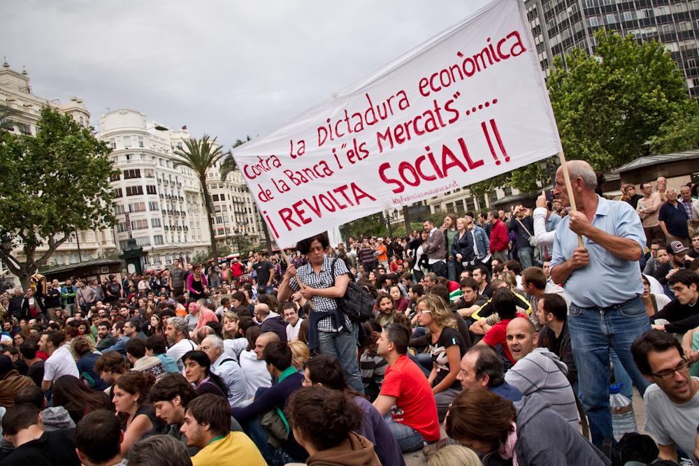 Movimiento 15M valencia 19-05-2011